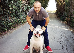LA dog trainer Sean O'shea